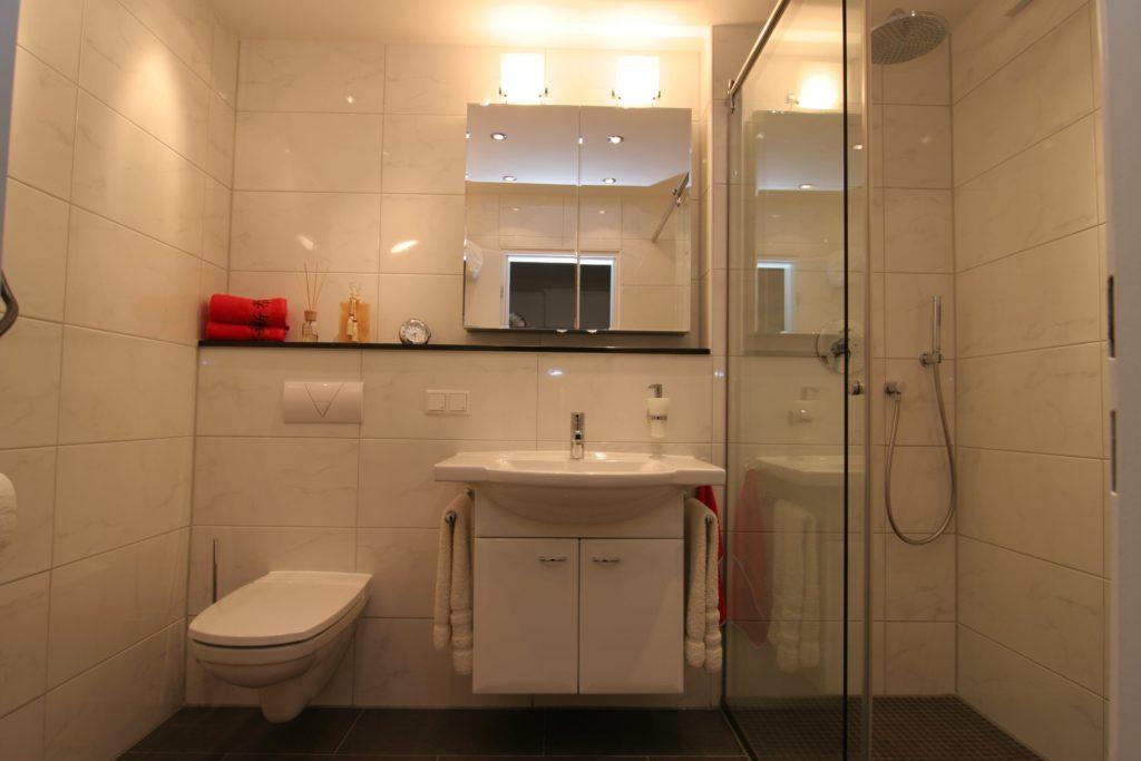 Neues Bad von SHK Fröhlich in Düsseldorf