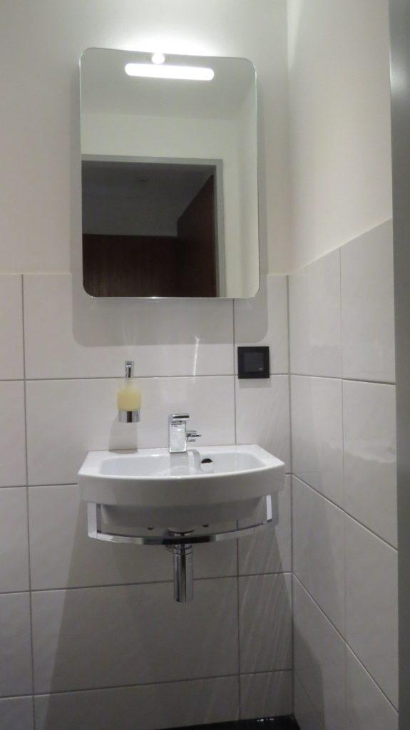 Kleines saniertes Bad in Düsseldorf