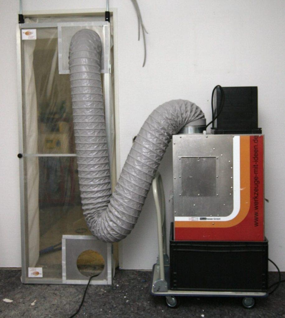 Installierte Fernwärmeanlage in Düsseldorf